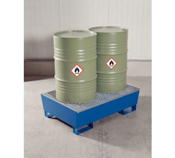 Auffangwanne zur sicheren Lagerung von Gefahrstoffen